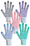 Synthetic female gloves Assorted