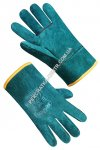 Gaiter mitten green short with lining 69506